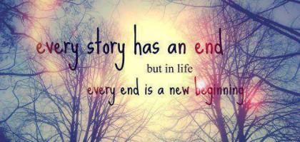 Ogni fine è un inizio