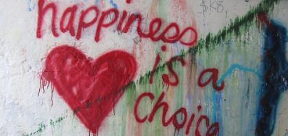 LA felicità è una scelta