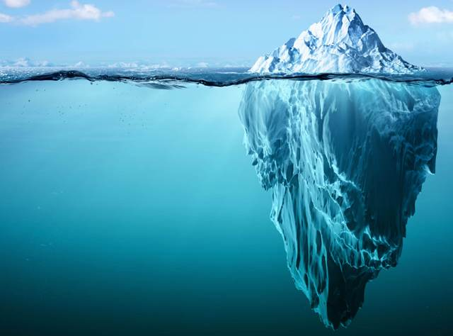 Metafora dell'iceberg