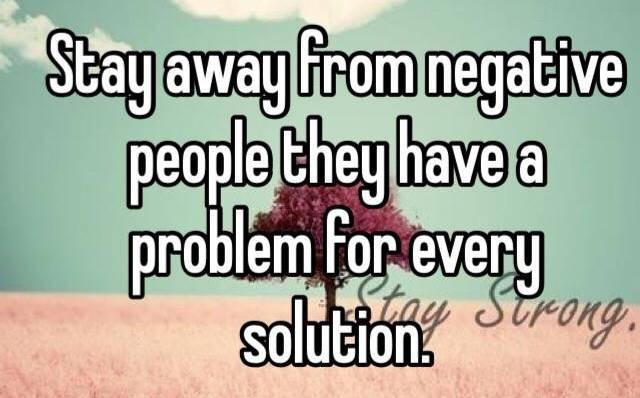 persone negative
