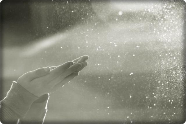 soffiare la polvere